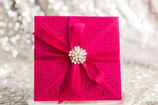 Lasercut Einladungskarten Karten Einladungen Zur Hochzeit Geburtstag  Babyparty Weihnachten Feier Karten Ebony Ivory Save The Date
